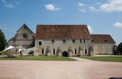 Noirlac, France. Historic Abbaye de Noirlac, France Royalty Free Stock Images
