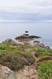 Noirmont punkt i Jersey, kanalöar Royaltyfria Bilder