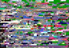 Noise. Digital television noise, TV screen, lost signal