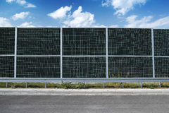 Noise barrier Stock Image