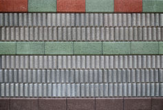 Noise barrier wall Royalty Free Stock Photo