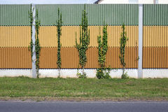 Noise barrier wall Royalty Free Stock Photos