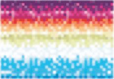 Noise colorful pixel Stock Photography
