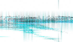 Noise graph Stock Photography