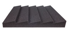 Noise isolating protective and shock absorber foam Royalty Free Stock Photography