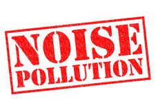 NOISE POLLUTION Royalty Free Stock Images