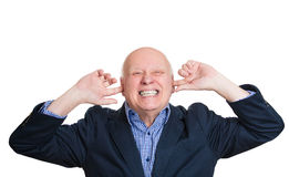 Noise is too loud Stock Photography