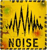 Noise warning sign Royalty Free Stock Photos