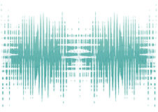 Noise waves royalty free stock photos