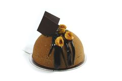 Noisette de chocolat photo stock