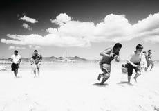 Noisiest beach Royalty Free Stock Photos