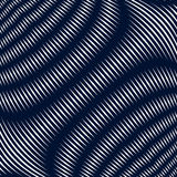 Noisy contrast lined backdrop, tiling with visual effects. Moire. Art technique Stock Photos