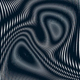 Noisy contrast lined backdrop, tiling with visual effects. Moire Stock Images