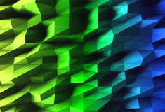 Noisy gradient wall background Stock Photos