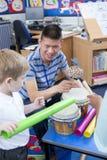 Noisy Nursery Lesson royalty free stock image