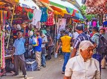The noisy Pettah Market Stock Photos