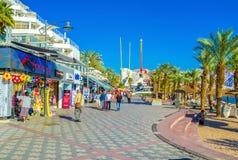 The noisy promenade Royalty Free Stock Images