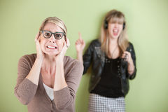 Noisy Teen Royalty Free Stock Photography