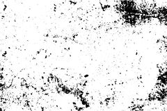 Noisy texture with natural spots and grain. Black stains on transparent background. Stock Photos