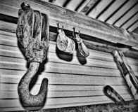 Noisy Tool Shed royalty free stock photography
