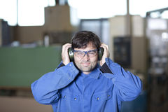 Noisy workplace Royalty Free Stock Images