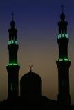 Noite árabe Fotografia de Stock