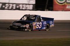 Noite 63 da série ORP do caminhão de Nick Hoffman NASCAR Fotos de Stock Royalty Free