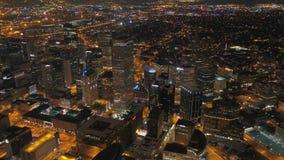 A noite 2017 aérea de Colorado Denver July 4K inspira 2 filme