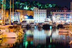 Noite agradável, França Fotos de Stock Royalty Free