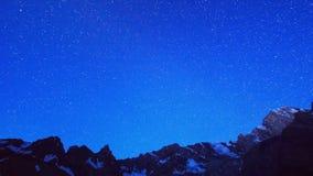 Noite-alvorecer nas montanhas Timelapse Pamir, Ta vídeos de arquivo