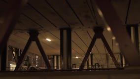 Noite Amsterdão da visão do barco de navigação filme