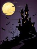 Noite assustador ilustração do vetor