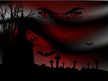Noite assustador Fotografia de Stock Royalty Free
