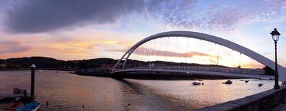 Noite Basque da ponte do país Fotos de Stock