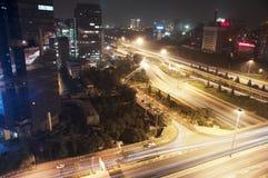 Noite beijing Imagens de Stock
