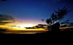 Noite bonita Fotografia de Stock