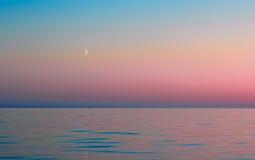 Noite branca no Lago Onega Foto de Stock