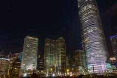 Noite central Fotografia de Stock
