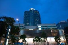 Noite central do mundo de Banguecoque Imagens de Stock Royalty Free