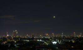 Noite city1 Fotografia de Stock