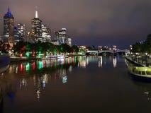 Noite da cidade Fotografia de Stock