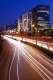 Noite da cidade Imagem de Stock