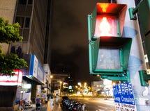 Noite da cidade Fotos de Stock