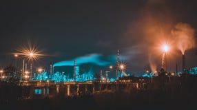 Noite da cidade fotografia de stock royalty free