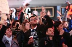Noite da eleição de New York Imagem de Stock