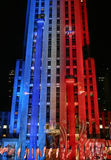 Noite da eleição de New York Fotografia de Stock