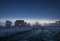 Noite da lua Fotografia de Stock