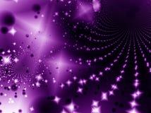 Noite da luz das estrelas Fotografia de Stock Royalty Free