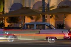Noite da movimentação do oceano de Miami Fotos de Stock Royalty Free
