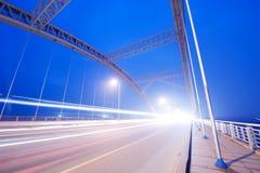 Noite da ponte fotos de stock royalty free